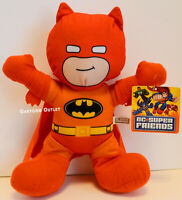 "Batman Plush Doll 12"" Orange Stuffed Doll Toy Gift Authentic New DC Comics New"