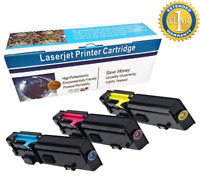 3 PK 2660 C M Y Color Toner Cartridge Set For Dell C2660dn C2665dnf Printer
