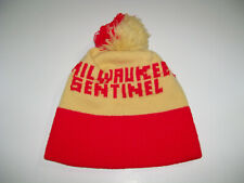 vintage Milwaukee Sentinel Newspaper Winter Hat