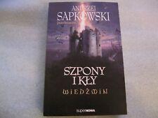 Wiedźmin - Szpony i Kły (okładka miękka) Sapkowski Andrzej WITCHER