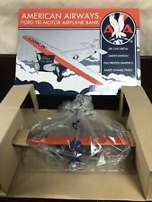 New American Airways Ford Tri-Motor Airplane Bank SpecCast 49007