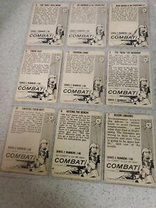 1963 DONRUSS COMBAT TV SHOW VINTAGE  FIRST  SERIES TRADING CARD  SHORT #19 # 66