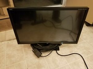 """NEC ACCUSYNC AS222MW 22"""" LED LCD Monitor WITH STAND"""
