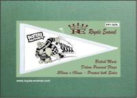 Royale Antenna Pennant Flag BAD MANNERS BUSTER ALL STARS - Ulma Vigano FP1.1075