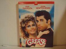 Grease (John Travolta, Olivia Newton-John) (DVD, 2002, Widescreen) L N