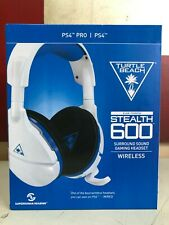 NEW Turtle Beach Over-the-Ear Stealth 600 White Wireless Gaming Headset