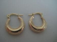 256f1653772a Oro Huggie Pendientes 9 Ct Oro Amarillo