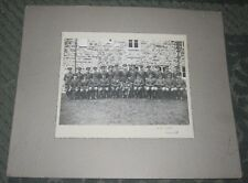 LATE 1930s MILITARY PHOTOGRAPH - R.A. OFFICERS - NORTHERN IRELAND - BARMOUTH CO.