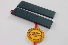 100% Genuino Nuevo Breitling D/Azul Correa de implementación de goma Diver Pro 3 22-20mm