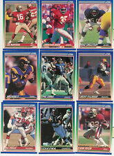 1990 SCORE FOOTBALL COMPLETE SET 1-660