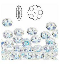 3700 6 CI ** 25 pierres à coudre fleur 6 mm réf. 3700 Swarovski CRYSTAL AB
