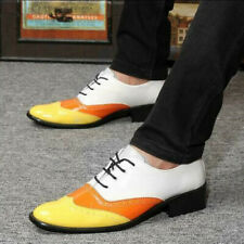 Mens Lace Up Wing Tip Patent Leather Oxfords Dress Formal Wedding Brogue Shoes K