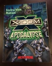 X-Com Apocalypse PC game INSTRUCTION MANUAL ONLY