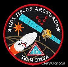 ORIGINAL - GPS-II F-03 - ARCTURUS - DELTA IV  - ULA  USAF MISSION SPACE PATCH