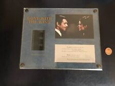Gone With The Wind 35mm Film Clip Lithograph Recollections 1993
