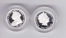 2000 SILVER Proof $2 Queen Elizabeth & Victoria long Veiled ex Masterpieces Set