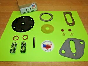1935 1936 36 1937 37 1938 38 PLYMOUTH PT PJ PF AC FUEL PUMP KIT FOR TODAY'S FUEL