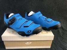 New Men's 11.5 - Giro Privateer R Cycling Shoe - Blue Jewel