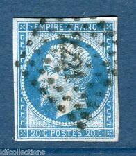 Classique de France Napoléon N°14Ae  PC2221 variété bleu sur lilas cote:80€