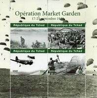 Chad Military & War Stamps 2020 MNH WWII WW2 Operation Market Garden 4v M/S