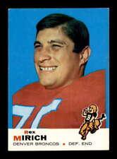 1969 Topps #49 Rex Mirich  EXMT/EXMT+ X1714650