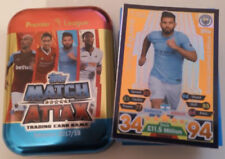 Premier League Manchester City Football Trading Cards & Stickers (Match Attax Game