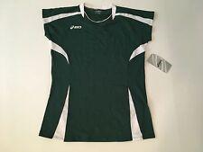 Asic's Women's Green Blocker Volleyball Jersey Sz. L NEW BB006