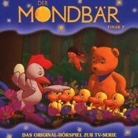 MONDBÄR - (2) ORIGINAL HÖRSPIEL ZUR TV-SERIE  CD  4 TRACKS  NEU