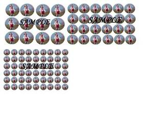 Personalised Photo/Design/Logo Cupcake Toppers Icing Paper /Rice Premium Paper