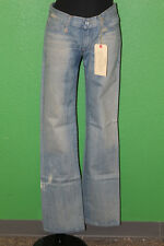 ROGAN Women's Narrow Jeans Texas Blue Left Handed 100% Cotton Size 29 $198 NEW