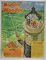 Modern Wonder Magazine Vol 4 - 83 December 1938  Gloster Gladiator + Gypsy Minor