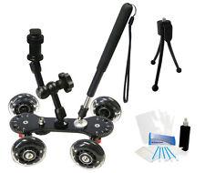 Professional Camcorder Video Skater Glider Dolly for Sony NEX-VG10 NEX-VG20