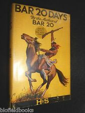 BAR 20 DAYS by Mulford Clarence - 1941 - Vintage Western Novel, Yellow Jacket
