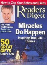 Magazine Reader's Digest December 2004 Jamie Lee Curtis Miracles do Happen 12