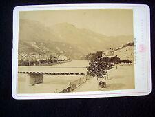 OLD ALBUMEN/CABINET CARD: INNSBRUCK~INNBRÜCKE~PHOTO: C.A. CZICHNA