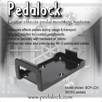 Pedalock -BOSS Effects Pedal Mounting Bracket - ! Fits Over 100 BOSS Pedals (BCP