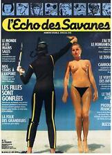 L'ECHO DES SAVANES NOUVELLE SERIE N° 21 SPECIAL ETE 1984 TRES BON ETAT