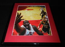 Michael Jordan vs Mark Jackson Framed 11x14 Photo Display Bulls Pacers