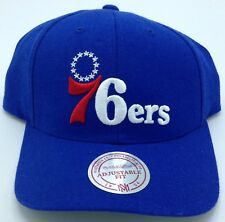 NBA Philadelphia 76ers Mitchell and Ness Retro Adult Adjustable Cap M N ... ea5ee28eb219