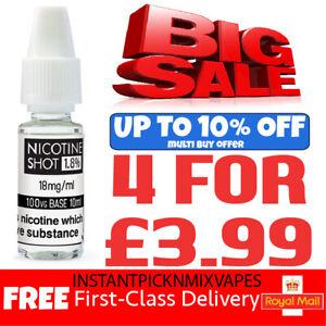 Nicotine Shots 10ml E Liquid Nic Shots drop 88 Vape Juice 18mg 15mg 70VG 100VG