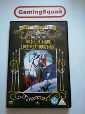 The Nightmare Before Christmas S.E DVD, Supplied by Gaming Squad
