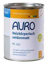 Auro Heizkörperlack seidenmatt weiß 2,5 l