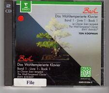 (HH938) Bach, Das Wohltemperierte Klavier - 1983 double CD