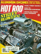 1983 Hot Rod Magazine: Street Blowers/Aluminum Engines/Legal Street Racing