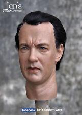 "1/6 RARE CUSTOM hot Tom Hanks toys figure head DID soldier story phicen DX 12"""