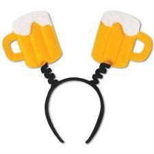 Beer Mug Head Boppers Oktoberfest Beer Props Party Supplies Decorations