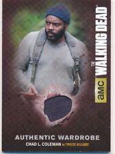 Walking Dead Season 4 Part 1 Authentic Wardrobe Card M-07 Tyreese Williams