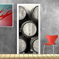 PT0164 Decorazione Adesiva bubble free per Porta arredo casa anta 100x210 cm