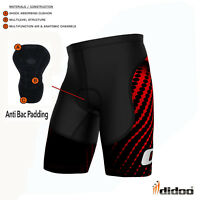 Didoo Men's Cycling Running Gym Sports Shorts Coolmax Padded Compression Boxers