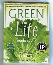 Green for Life * Audio Bk * 3 CD's * Unabridged * 16 Page Booklet * V Boutenko